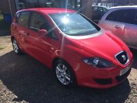 SEAT ALTEA 1.9 REFERENCE TDI 5d 103 BHP (red) 2005