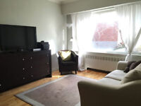 Short term lease Montreal 3 ½ furnished apartment - Starting Jan