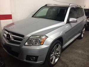 2010 MERCEDES GLK350 4MATIC , ACCIDENT FREE, PANO ROOF, LEATHER