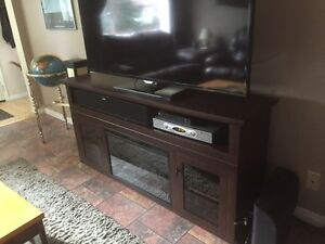 BRAND NEW Electric Fireplace/TV stand