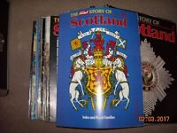 The Story of Scotland magazine collection.