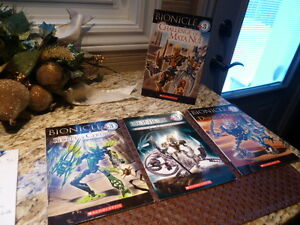 Collection of 4 BIONICLE Level 3 Books