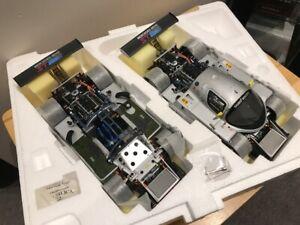 1/18 Diecast Exoto Sauber Mercedes C9 Duo Gift Set MOST RARE