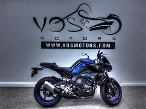 2018 Yamaha MT10 - V3364NP - Free Delivery in GTA**