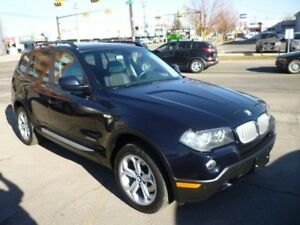 2010 BMW X3 xDrive30i PREMIUM PACKAGE/PANO ROOF/ALLOYS/AWD
