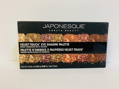 Japonesque Velvet Touch Hickly Pigmented Matte Shades Eye Shadow Palette