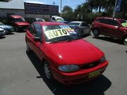 1998 Ford Festiva WF GLi Red 3 Speed Automatic Hatchback Waratah Newcastle Area Preview