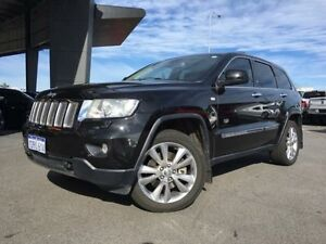 2011 Jeep Grand Cherokee WK Limited 70th Anniversary (4x4) Black 5 Speed Automatic Wagon Beckenham Gosnells Area Preview