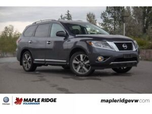 2014 Nissan Pathfinder SL NO ACCIDENTS, BC CAR, 4-WHEEL DRIVE!