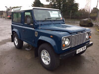 1999 Land Rover Defender SWB Short Wheel Base County Conversion 7 Seats Diesel 4X4 Great Condition