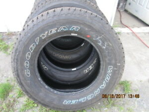 pneus LT 275 65 18 goodyear ford dodge gmc toyota