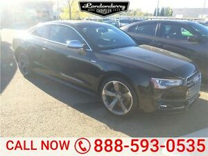 2014 Audi S5 PREMIUM TECHNIK Accident Free,  Navigation (GPS),
