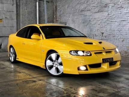 2002 Holden Special Vehicles Coupe V2 GTO Yellow 4 Speed Automatic Coupe Mile End South West Torrens Area Preview