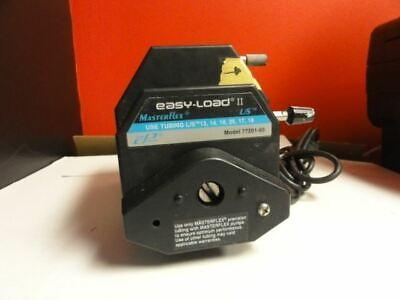 Cole Palmer Peristaltic Pump With Masterflex Ls Easy-load Ii Model 77201-60 Pum