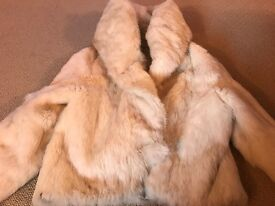 Range of Fur coats. To buy individually or altogether Black, cream and beige