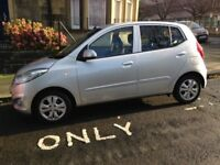 2012 Hyundai i10 Silver - only 28,500 miles - still some warranty left - very good condition