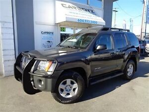 2007 Nissan Xterra Off Road 4X4, Manual, Service Records
