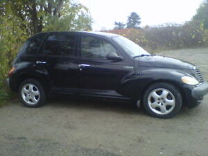 As is 2002 Chrysler PT Cruiser Selling as parts car