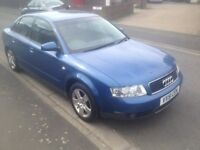 Audi A4 1.9 tdi sport drives perfectly and very economical to run full 12 months mot