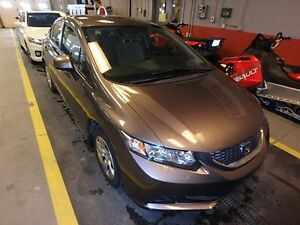 2013 Honda Civic LX Automatic,  with Bluetooth, digital dash, st