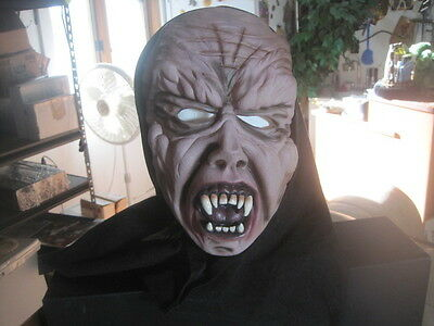 Scary Werewolf Zombie Halloween Teeth Costume Mask One Size Fits Most