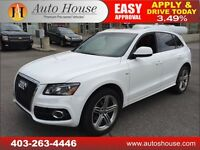 2011 Audi Q5 QUATTRO S-LINE AWD PANO ROOF 90 DAYS NO PAYMENTS