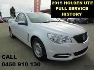 2015 Holden Ute VF MY15 79,000KMS White 6 Speed Automatic Utility Wangara Wanneroo Area Preview
