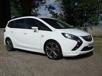 Sept 2013 Vauxhall Zafira Tourer SRI CDTI Bi-Turbo VX-Line Styling 195 BHP Sat Nav, RARE CAR!!