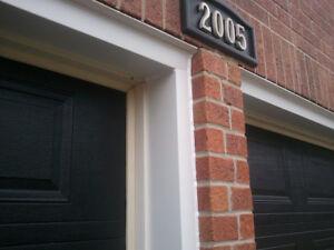Garage Door Capping