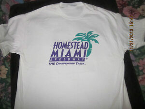 His & Hers NASCAR Homestead Miami T-Shirts NEW