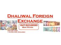 We buy US dolars, send money to India