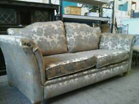 Modern gold fabric sofa