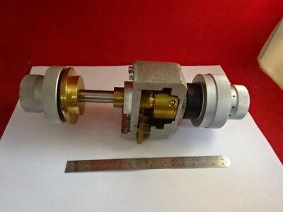 Reichert Polyvar Mechanism Stage Adjust Microscope Part Optics As Is 27-a-14