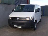 Volkswagen Transporter crewvan 6 seater