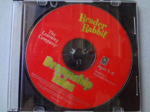 Ridder Rabbit Dreamship Tales. Ages 3-8. The Learning Company. Win/Mac