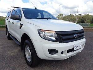 2012 Ford Ranger PX XL Hi-Rider White Auto Sports Mode 4D Utility Erina Gosford Area Preview