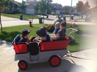French Daycare in Island lakes has one spot for sept