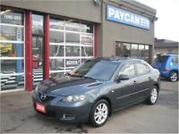 2008 Mazda Mazda3 GX |6 MONTH ENGINE AND TRANS WARRANTY FREE!