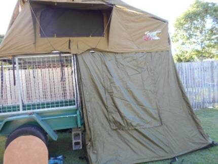 Roo Systems - Roof top tent : bonus camping gear!