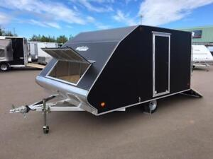 """NEW 2018 XPRESS 101"""" X 12' DELUXE ALUMINUM SNOW TRAILERS"""