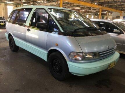 1992 Toyota Tarago TCR10R GLi Blue Automatic Wagon