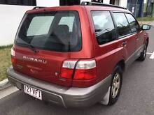 2001 SUBARU FORESTER, FULL LOG BOOKS, MAY REGO + RWC Woolloongabba Brisbane South West Preview