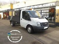 2008 Ford Transit T350 2.4TDCi 100ps CAGED VAN Diesel white Manual