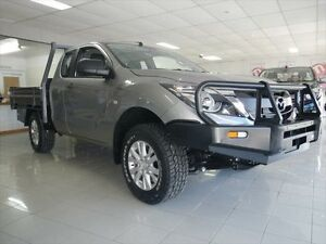 2016 Mazda BT-50 UR0YG1 XT Freestyle Aluminium 6 Speed Sports Automatic Cab Chassis Young Young Area Preview