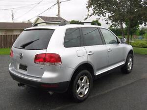 volkswagen TOUAREG V6, AWD, CUIR, MAGS , AC, PROPRE 4999$