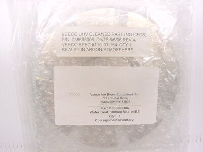 Veeco 038665306 100mm Round Wafer Seat Nibe 115-01-154