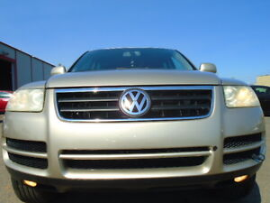 2004 Volkswagen Touareg SPORT 3.2L V6-LEATHER-SUNROOF-NEW TIRES