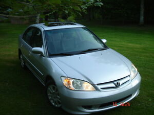 """ REDUCED AGAIN "" 2005 Honda Civic LX Sedan"