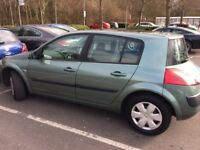 Renault Megane Oasis 1.4 16V Low mileage! New front tyres Very good condition Low fuel comsumption
