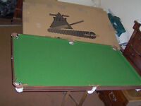 Pot Black snooker table - never used